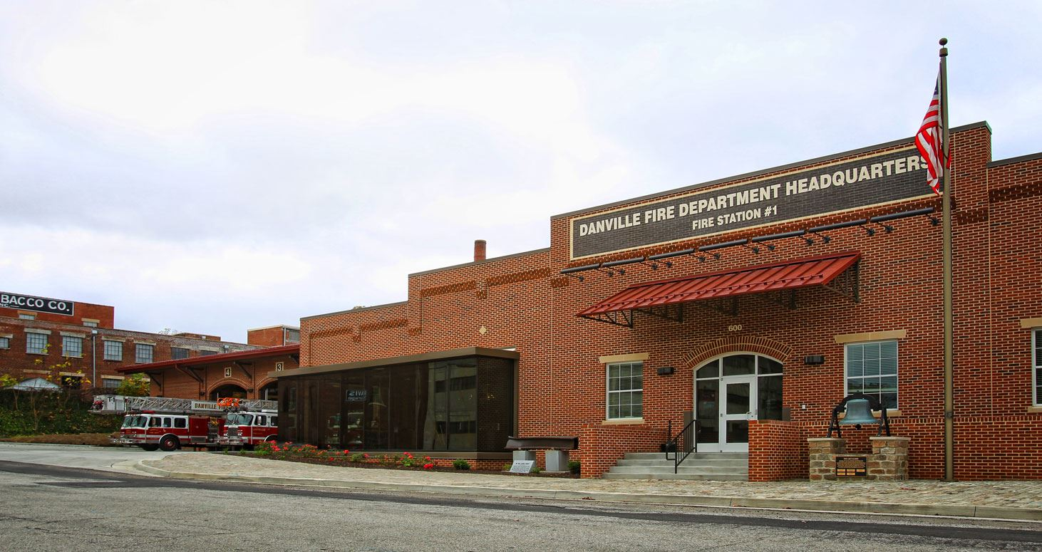 Danville Fire Department Headquarters - Fire Station #1