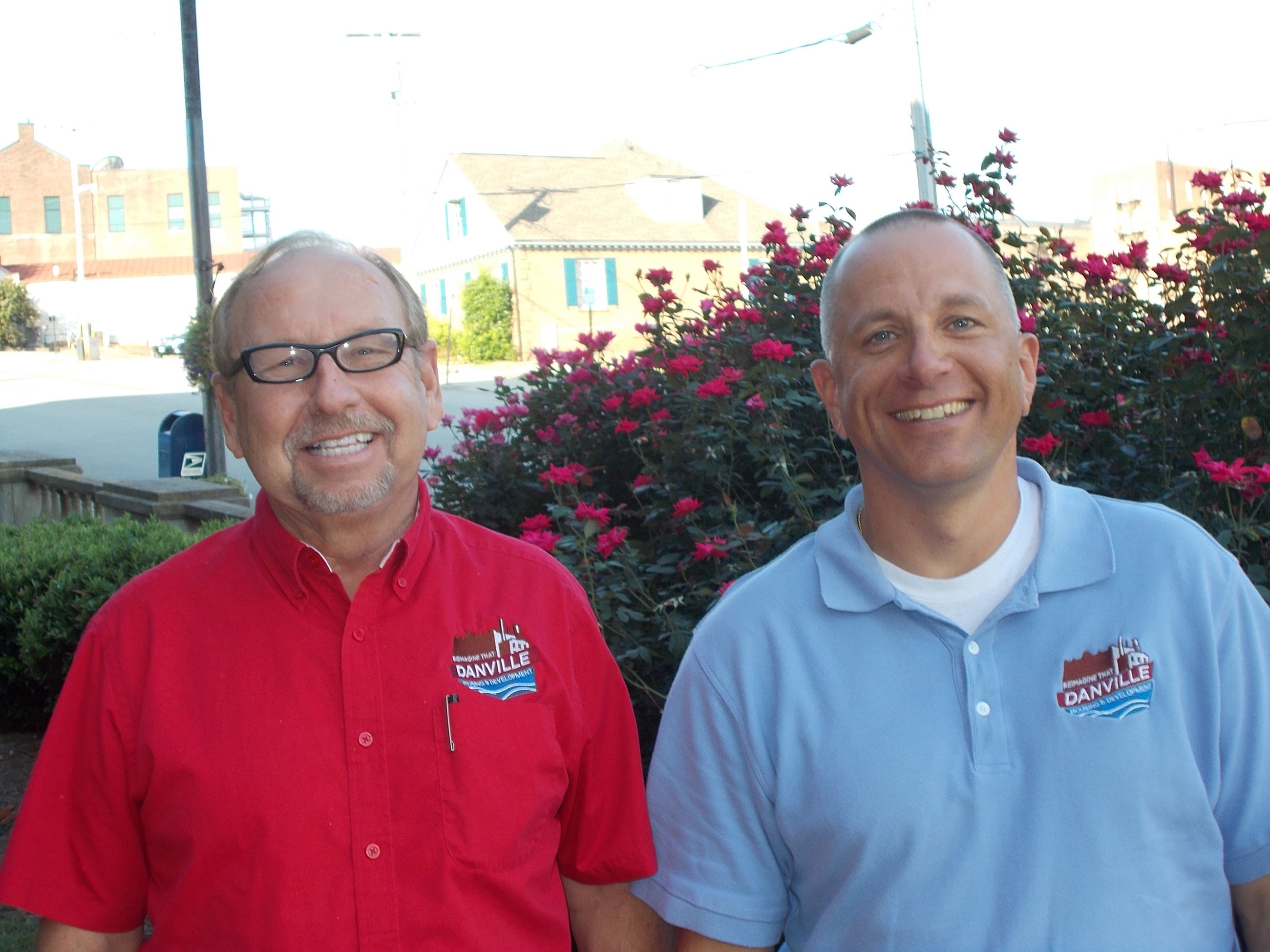 David Moss and Wayne Atkins, Cost Estimators and Inspectors