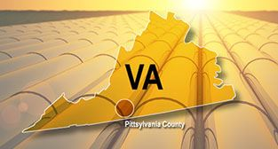 Map - Southern Virginia Mega Site at Berry Hill in Pittsylvania County