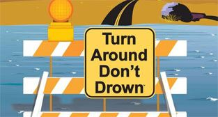 Graphic - Turn around, don&#39t drown
