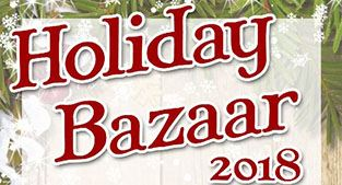 Holiday Bazaar banner