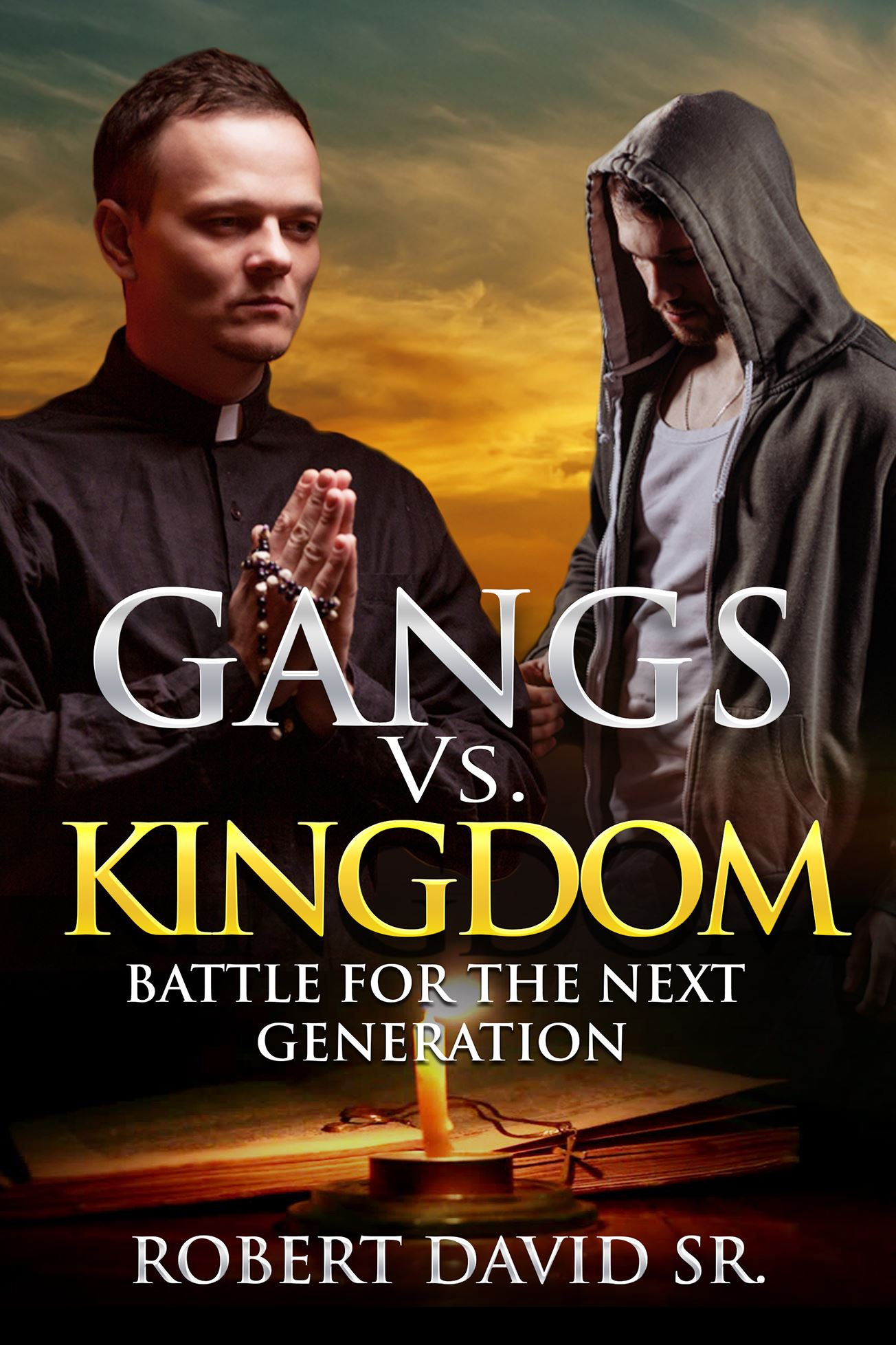 "Book cover for ""Gangs vs. Kingdom: Battle for the Next Generation"""