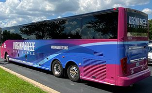 Virginia Breeze bus photo