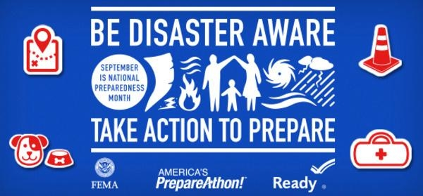Be Disaster Aware logo