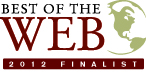 Best of the Web 2012 Finalist