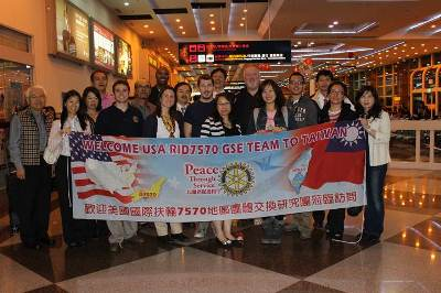 Investigator A K Hairston Visiting Taiwan as part of the Rotary International Exchange