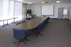 Long Table in Conference Room