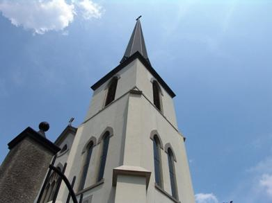 Church Spire in Historic Danville