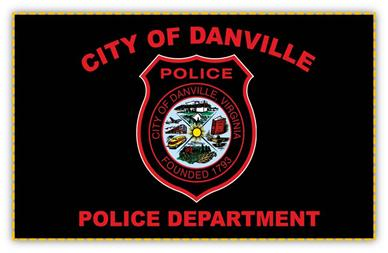 Danville Police Department Flag