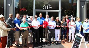 Ribbon cutting for Commonwealth Pharmacy of the River City